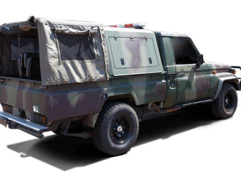 RSI SMARTBOX® XL - Toyota Land Cruiser - SCab - Military-2