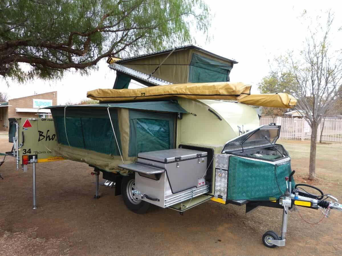 Bhoma 4x4 Off Road Caravan