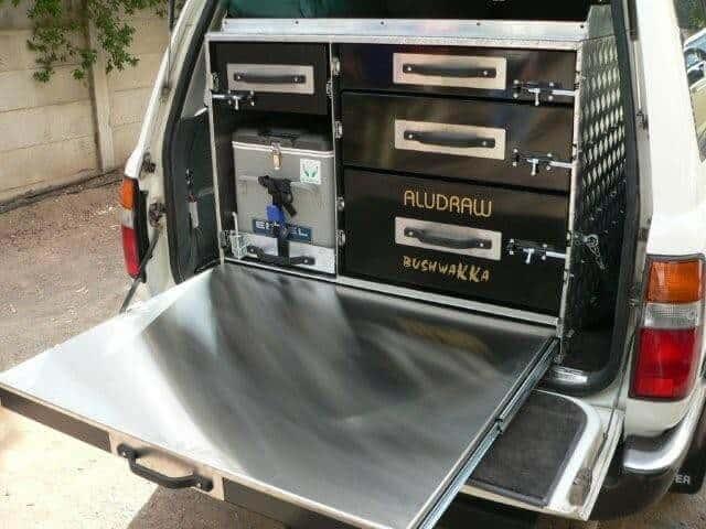 Bushwakka Combo Drawer Systems