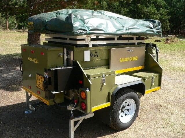 Bushwakka trailer tents for Build your own canvas tent