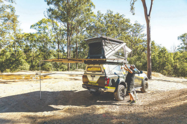 360 Nest Rooftop Tent Awning 2020 Review | Camper Australia