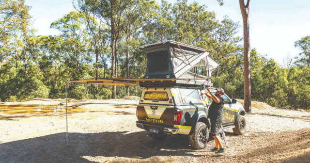 Bushwakka 360 Nest Rooftop Tent | Awnings Review 2020 | Camper-Australia